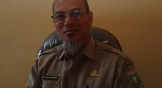 Kepala Dinas Keteranaga Kerajaan dan Transmigrasi (Disnakertrans) Kabupaten Sumbawa, M. Ikhsan Safiti.,