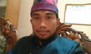 Ketua Devisi SDM dan Parmas KPU Sumbawa, Muhammad Ali, S.IP