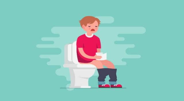 Ilustrasi penyakit diare