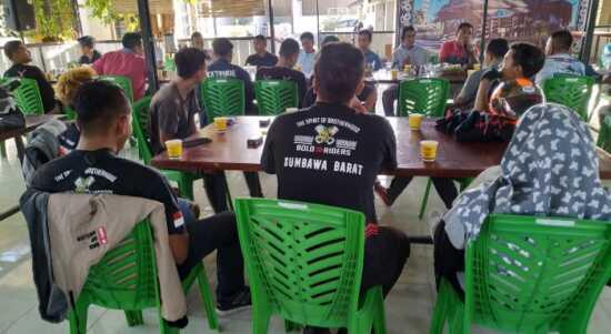 Komunitas motor Sumbawa
