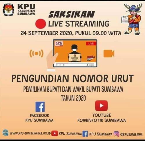 iklan KPU Sumbawa