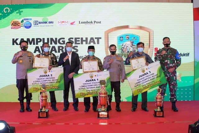 Kampung Sehat Awards tingkat prov ntb