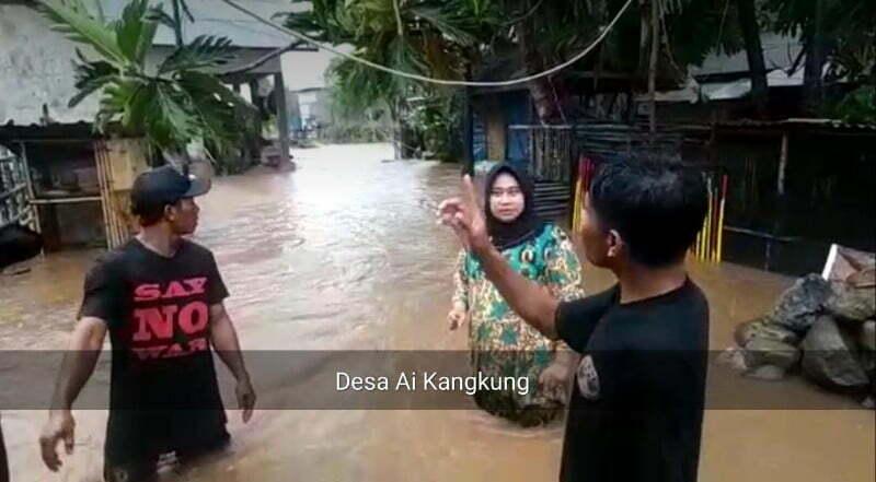 Banjir desa ai kangkung ksb