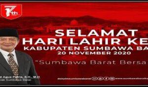 iklan hut ksb Kabar Sumbawa