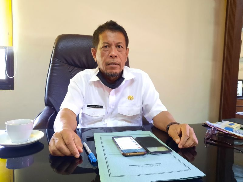 Sekda Sumbawa Drs. H. Hasan Basri