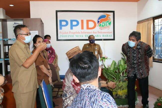 bapenas ri kunjungi ppid Kabar Sumbawa