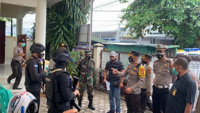 tim gabungan amankan misa paskah Kabar Sumbawa