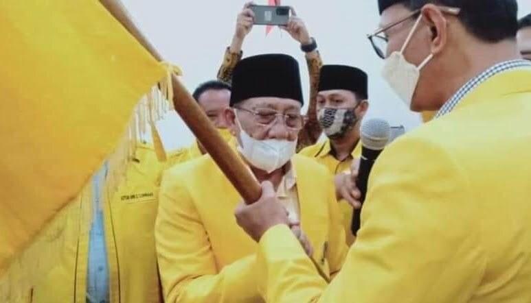 H mo terpilih ketua Golkar