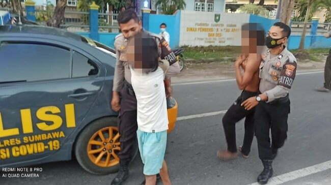 Duel di Jalan, 2 Pemuda Diamankan Polisi