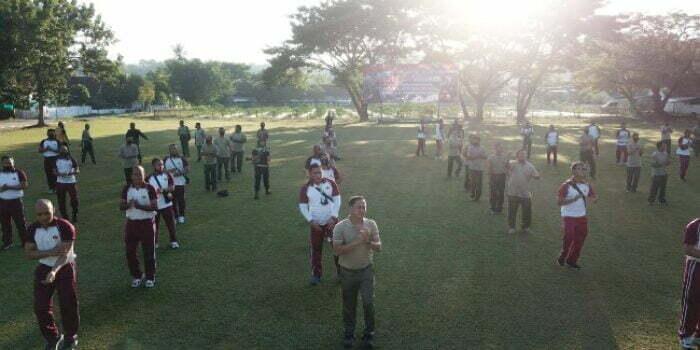 sinergitas dan solidaritas TNI-POLRI