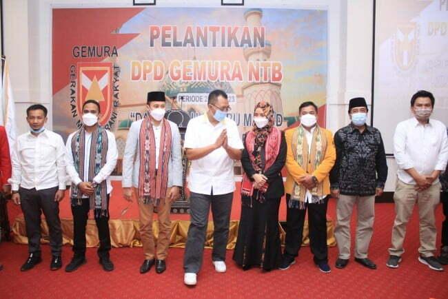 pelantikan gemuru nyb Kabar Sumbawa