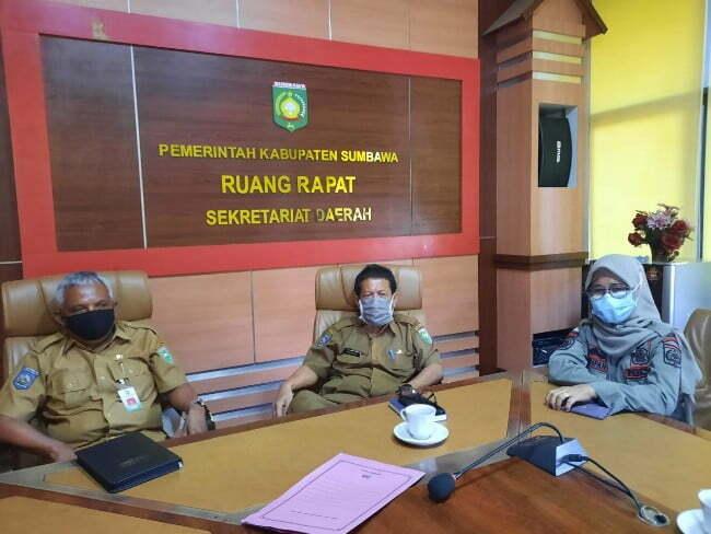 Sekda kabupaten Sumbawa