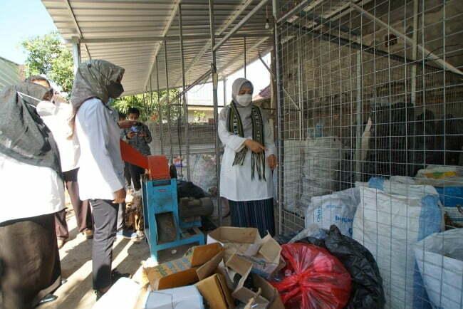 wagub ntb tinjau lokasi pabrik pengolahan sampah Kabar Sumbawa