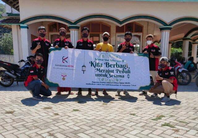 Bold Riders dan Heppiii Community Rayakan Idul Adha dengan Rekor MURI