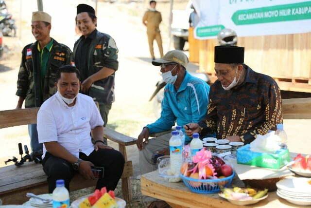 bupati sumbawa ponpes assalam Kabar Sumbawa