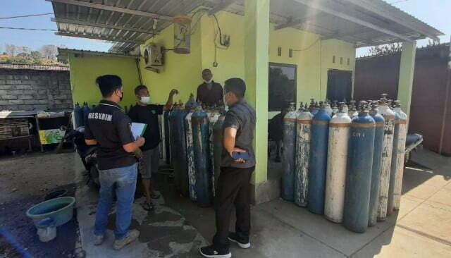 Antisipasi Penimbunan, Polisi di Sumbawa Cek Ketersediaan Oksigen