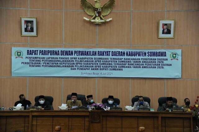 paripurna dprd Kabar Sumbawa