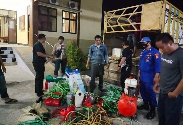Bahan peledak yang digunakan nelayan Kabar Sumbawa