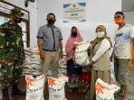 Pendistribusian Bantuan Beras PPKM 2021
