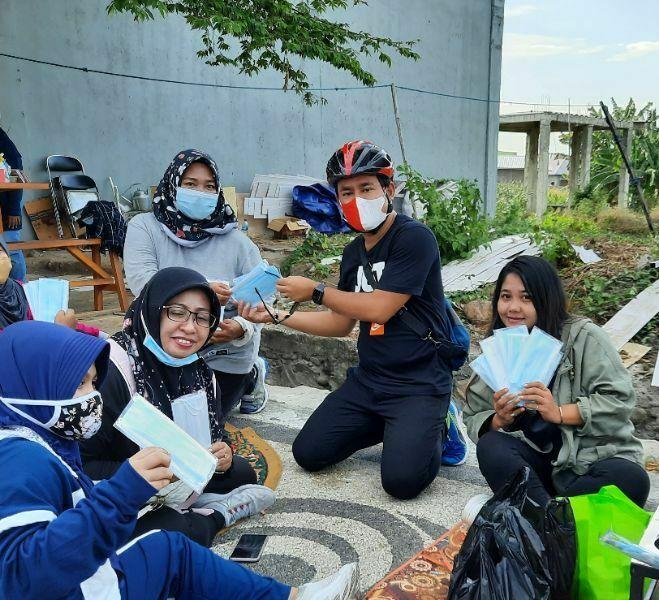 Goes Bareng, Cara IKLS Contohkan Hidup Sehat di Tengah Pandemi