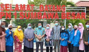 Mahasiswa UNSA Kuliah Lapangan di SMPN 1 Sumbawa