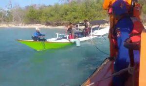 Kapal Pecah Dihantam Ombak, Tujuh Pemancing Terdampar
